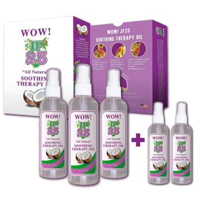 WOW! JF23 BUY 1 FAMILY PACK – GET 2 FREE TRAVEL SIZE